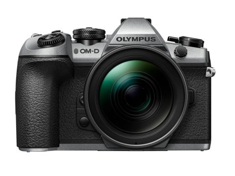 A Silver Limited Edition Camera in Commemoration of the Olympus 100th Anniversary