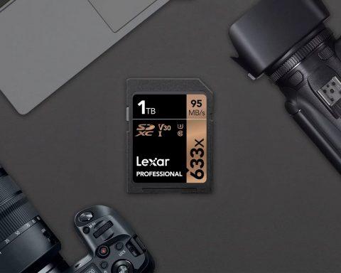 Lexar: World's First 1TB SDXC Memory Card