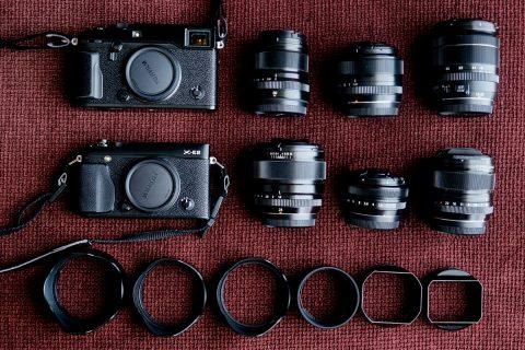 Lorenzo Lessi's Camera Bag