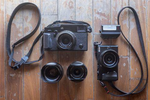 Vinicio Drappo's Camera Bag