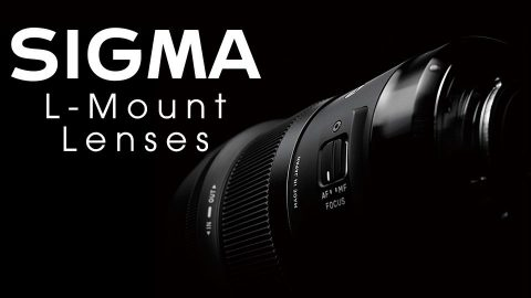 Sigma Launches 11 L-Mount Art Lenses and MC-21 Adapter