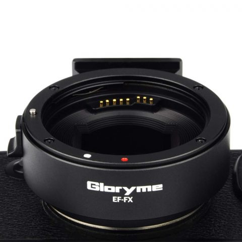 Gloryme introduce a New Canon EF to Fujifilm X Auto Focus Adapter