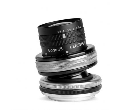 Lensbaby Announced a New Composer Pro II with Edge 35 Optic Wide Angle Tilt Lens