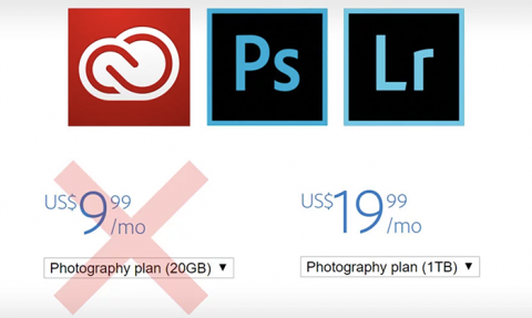 Adobe's Creative Cloud $10 Photography Plan Updated