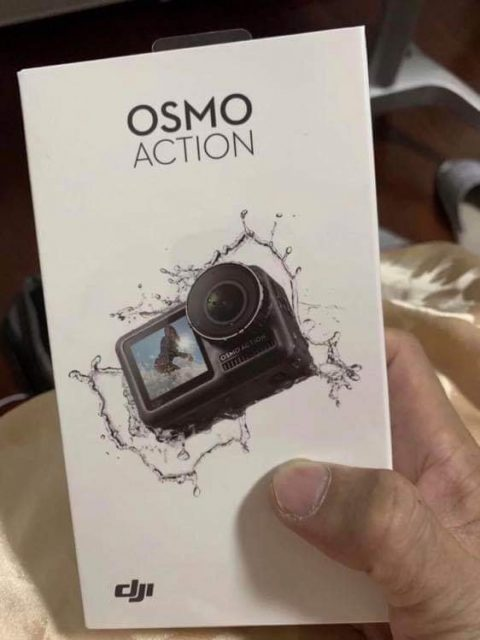 Upcoming DJI Osmo Action Camera Images Leaked