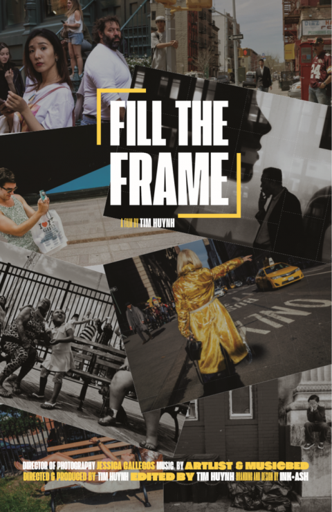 Fill The Frame – A New Street Photography Documentary