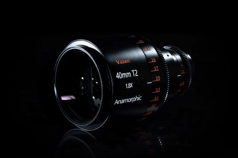 Vazen Announces the Worlds First 1.8x Anamorphic Prime Lens Designed for m43 Sensors