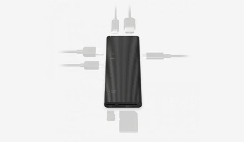 Sony Launches World's Fastest Smart Multifunction USB Hub with UHS-II SD/microSD Reader