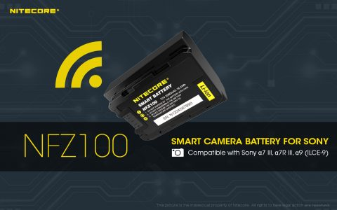 Nitecore Announces a New Sony Bluetooth Smart Battery that is Managed with a Mobile App
