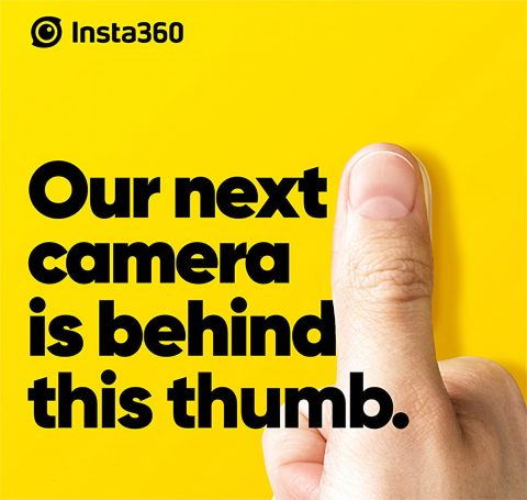 Insta360 GO: a Stabilized Action Camera Smaller than Your Thumb