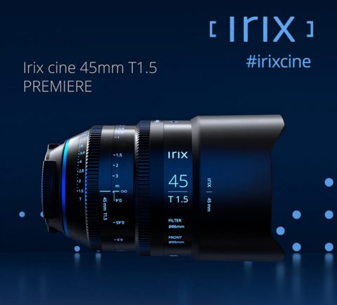 Irix Expands its Offer of Cinematographic Lenses with the New Full-Frame 45mm T1.5