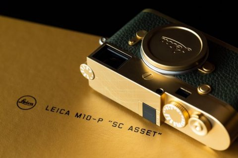 """Leica Release in Thailand a M10-P """"SC Asset"""" Limited Edition Brass Camera"""