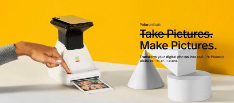 Polaroid's Newest Printer Gives Analog Life to Smartphone Pictures with a Miniature Table Top Darkroom