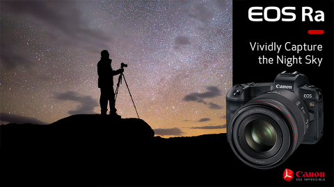 Canon Targets Astrophotographers and Celestial Wonders with the New EOS Ra