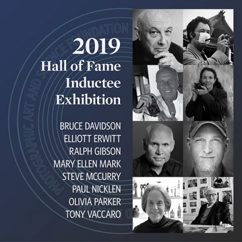 International Photography Hall of Fame Announces 2019 Inductees