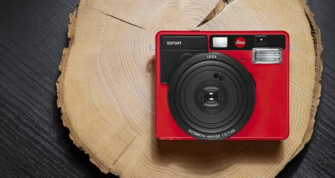 Leica Sofort Instant Film Camera in a New Red Finish, Just in Time for the Holydays