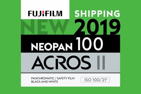 NEOPAN 100 ACROS II is Anticipated to Launch in US and Other Select Markets in Early 2020