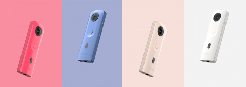 """Ricoh Releases the Second-Generation """"Enthusiast"""" 360-Degree Camera THETA SC2"""