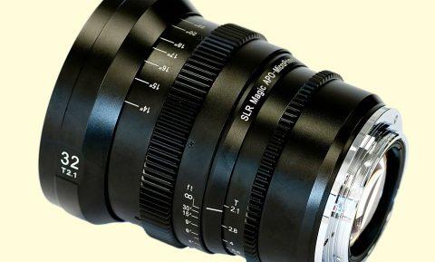 SLR Magic Announces Four APO-MicroPrime Series Lenses for Canon EF Mount