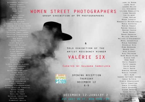 The Annual @WomenStreetPhotographers Exhibition in New York City