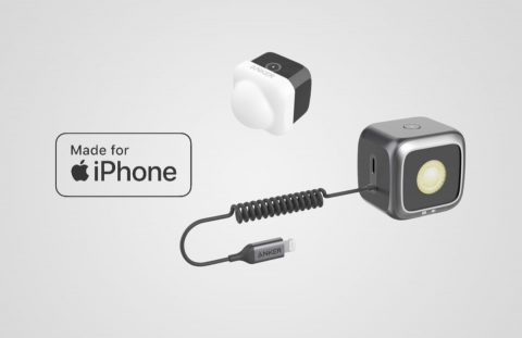 "Anker Unveils the First ""Made for iPhone"" Certified Led External Flash Cube for iPhone 11, 11 Pro Devices"