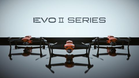 Autel Robotics Showcased EVO II the World's First 8K Foldable Consumer Drone