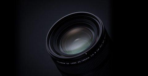 Fuji Unveils the New GF 45-100mm f/4 Medium Format Lens