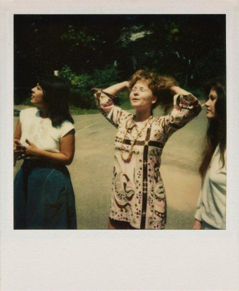 William Eggleston – Polaroid SX-70