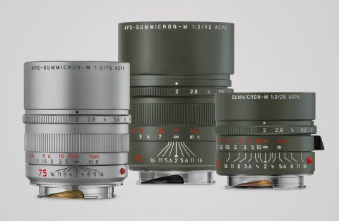 Leica Introduces a New Variant and Two Special Editions Lenses for the Leica M Cameras