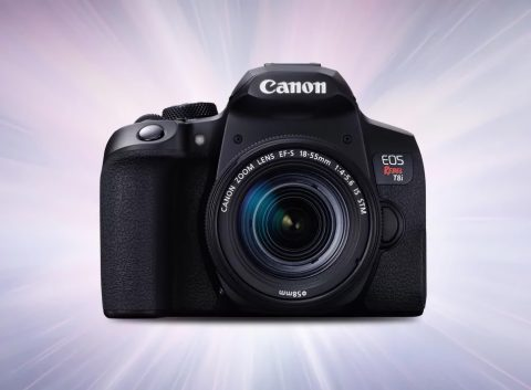 The New Canon EOS Rebel T8i Brings 4K and Better AF in Canon's Popular Budget DSLR