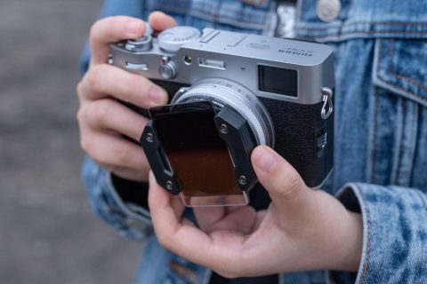 NiSi Announces a Tiny Filter System and UHD UV Filter for Fujifilm X100 Series of Cameras