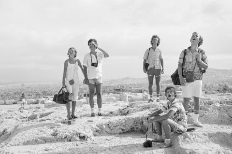Tod Papageorge – On the Acropolis