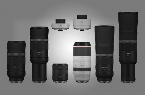 Canon Unveils Four RF Telephoto Lenses, Two RF Lens Extenders, and a PRO Printer