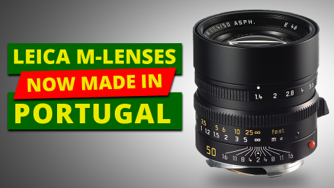 Leica Introduces 9 Portuguese-Made Lenses Only for the US Market