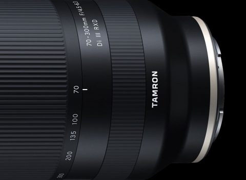 Tamron Announces the Development of Compact 70-300mm F4.5-6.3 Di III RXD for E-mount