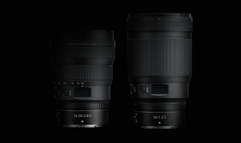 Nikon Introduces  the 50mm f/1.2 and 14-24mm f/2.8 S Lenses for the Z-Mount