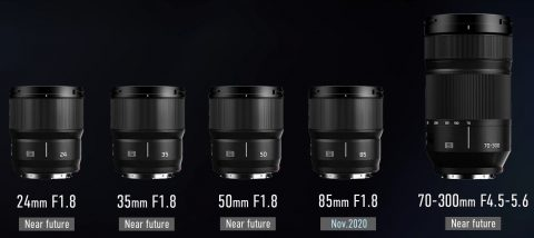 Panasonic Add Five New L-Mount Lenses to Their Lens Roadmap