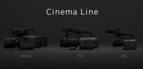Sony Unveils a New Cinema Line and a New FX6 Camera