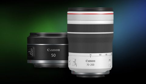 Canon 50mm f/1.8 STM and 70-200mm f/4L IS Now Available in RF Lineup