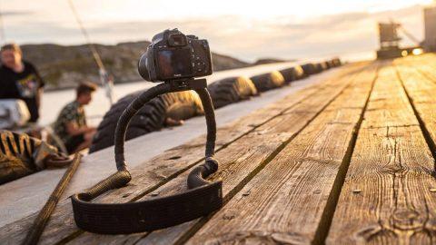 Frii Designs' Conda Camera Is a Strap Tripod Hybrid
