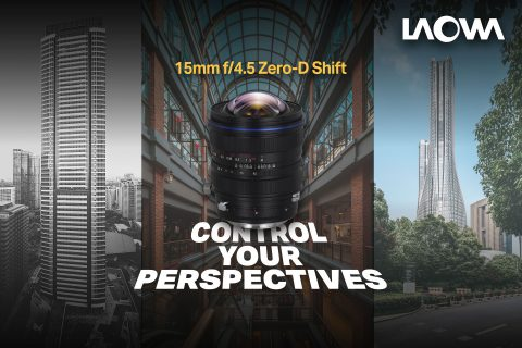 Venus Optics Announces the New Laowa 15mm f/4.5 Zero-D Shift Lens