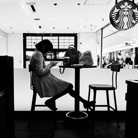 Starbucks silhouette