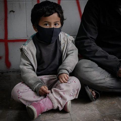 Syrian beggar boy