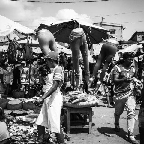 Malagasy street market