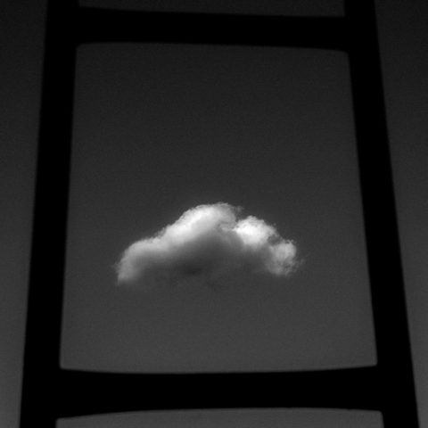 A ladder and a cloud