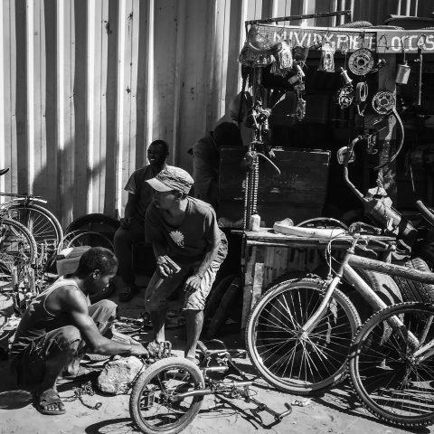 Bike repairer.