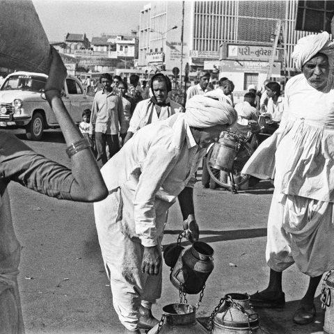 Milkmen in Ahemadabad